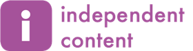 Independent content logo