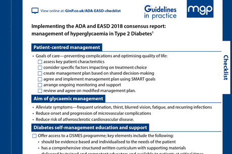 Guidelines in Practice – supporting implementation of best